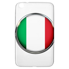 Italy Country Nation Flag Samsung Galaxy Tab 3 (8 ) T3100 Hardshell Case