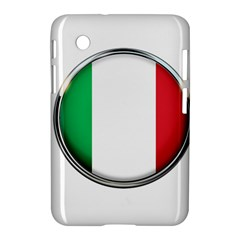 Italy Country Nation Flag Samsung Galaxy Tab 2 (7 ) P3100 Hardshell Case