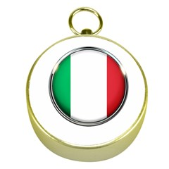Italy Country Nation Flag Gold Compasses