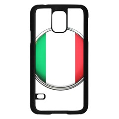 Italy Country Nation Flag Samsung Galaxy S5 Case (black)