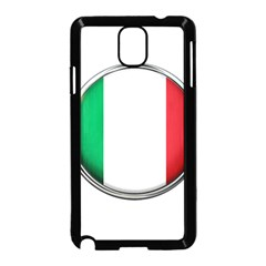 Italy Country Nation Flag Samsung Galaxy Note 3 Neo Hardshell Case (black)