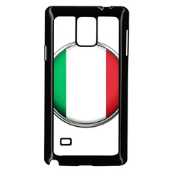 Italy Country Nation Flag Samsung Galaxy Note 4 Case (black)
