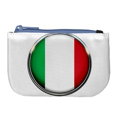 Italy Country Nation Flag Large Coin Purse