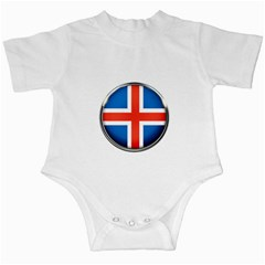 Iceland Flag Europe National Infant Creepers