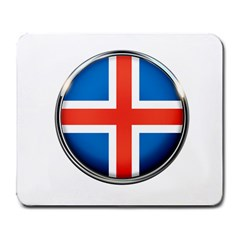 Iceland Flag Europe National Large Mousepads