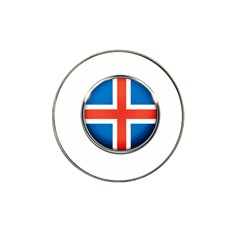 Iceland Flag Europe National Hat Clip Ball Marker