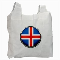 Iceland Flag Europe National Recycle Bag (one Side)