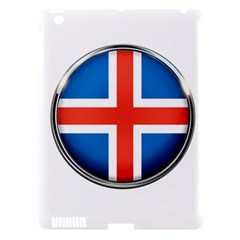 Iceland Flag Europe National Apple Ipad 3/4 Hardshell Case (compatible With Smart Cover)