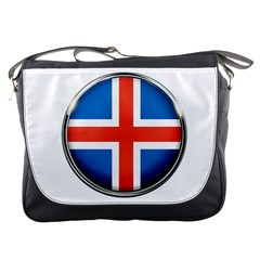 Iceland Flag Europe National Messenger Bags
