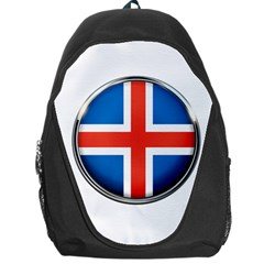 Iceland Flag Europe National Backpack Bag