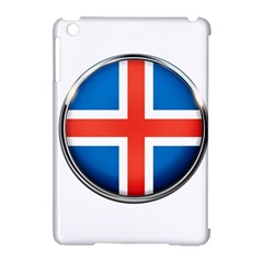 Iceland Flag Europe National Apple Ipad Mini Hardshell Case (compatible With Smart Cover)