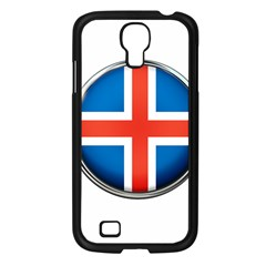 Iceland Flag Europe National Samsung Galaxy S4 I9500/ I9505 Case (black) by Nexatart