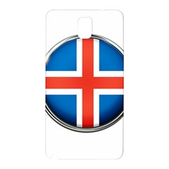 Iceland Flag Europe National Samsung Galaxy Note 3 N9005 Hardshell Back Case
