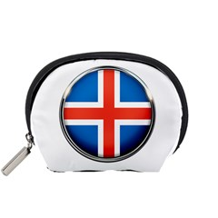Iceland Flag Europe National Accessory Pouches (small)