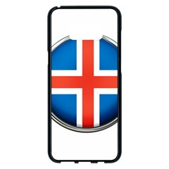 Iceland Flag Europe National Samsung Galaxy S8 Plus Black Seamless Case