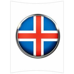 Iceland Flag Europe National Back Support Cushion
