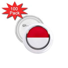 Monaco Or Indonesia Country Nation Nationality 1 75  Buttons (100 Pack)