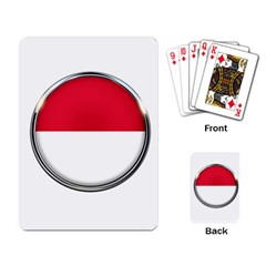 Monaco Or Indonesia Country Nation Nationality Playing Card