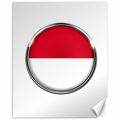 Monaco Or Indonesia Country Nation Nationality Canvas 16  X 20