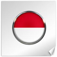 Monaco Or Indonesia Country Nation Nationality Canvas 20  X 20