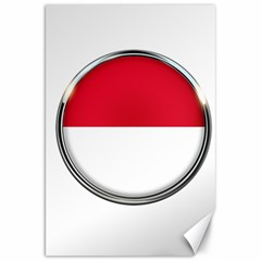 Monaco Or Indonesia Country Nation Nationality Canvas 20  X 30