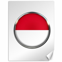 Monaco Or Indonesia Country Nation Nationality Canvas 36  X 48