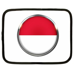 Monaco Or Indonesia Country Nation Nationality Netbook Case (large)