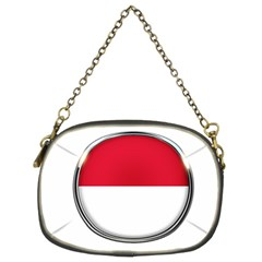 Monaco Or Indonesia Country Nation Nationality Chain Purses (two Sides)