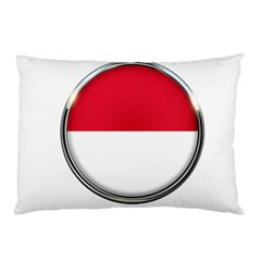 Monaco Or Indonesia Country Nation Nationality Pillow Case