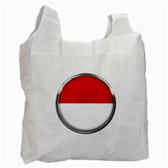 Monaco Or Indonesia Country Nation Nationality Recycle Bag (one Side)