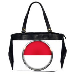 Monaco Or Indonesia Country Nation Nationality Office Handbags (2 Sides)