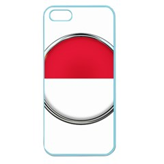 Monaco Or Indonesia Country Nation Nationality Apple Seamless Iphone 5 Case (color)
