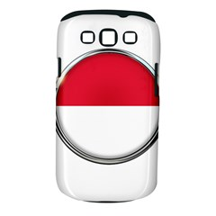 Monaco Or Indonesia Country Nation Nationality Samsung Galaxy S Iii Classic Hardshell Case (pc+silicone)