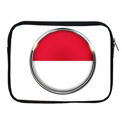 Monaco Or Indonesia Country Nation Nationality Apple Ipad 2/3/4 Zipper Cases