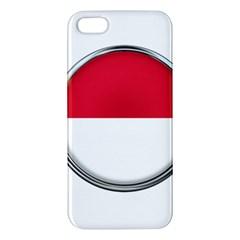 Monaco Or Indonesia Country Nation Nationality Iphone 5s/ Se Premium Hardshell Case