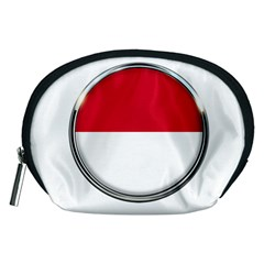 Monaco Or Indonesia Country Nation Nationality Accessory Pouches (medium)