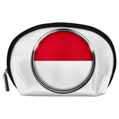 Monaco Or Indonesia Country Nation Nationality Accessory Pouches (large)