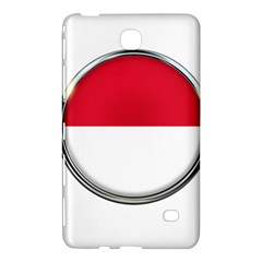 Monaco Or Indonesia Country Nation Nationality Samsung Galaxy Tab 4 (8 ) Hardshell Case