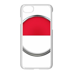 Monaco Or Indonesia Country Nation Nationality Apple Iphone 7 Seamless Case (white)