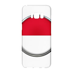 Monaco Or Indonesia Country Nation Nationality Samsung Galaxy S8 Hardshell Case
