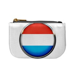 Luxembourg Nation Country Red Mini Coin Purses