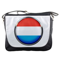 Luxembourg Nation Country Red Messenger Bags