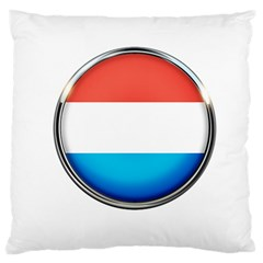 Luxembourg Nation Country Red Large Cushion Case (two Sides)
