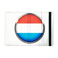 Luxembourg Nation Country Red Apple Ipad Mini Flip Case by Nexatart