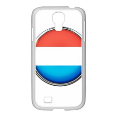 Luxembourg Nation Country Red Samsung Galaxy S4 I9500/ I9505 Case (white) by Nexatart