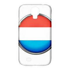 Luxembourg Nation Country Red Samsung Galaxy S4 Classic Hardshell Case (pc+silicone)