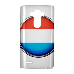 Luxembourg Nation Country Red Lg G4 Hardshell Case