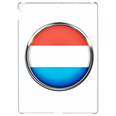 Luxembourg Nation Country Red Apple Ipad Pro 12 9   Hardshell Case