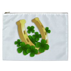 St  Patricks Day  Cosmetic Bag (xxl)  by Valentinaart