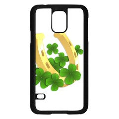 St  Patricks Day  Samsung Galaxy S5 Case (black)